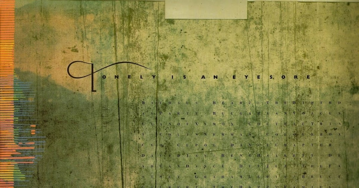 4 AD Front Cover Vinyl LP - VA - Lonely Is An Eyesore